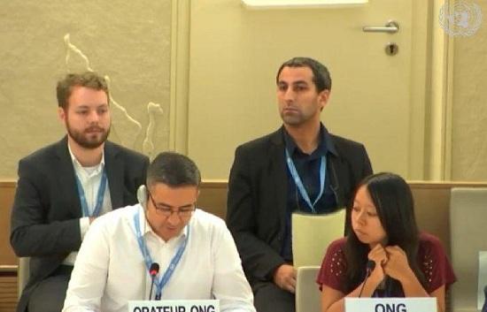 العودة يطالب مجلس حقوق الإنسان بالضغط لإعادة إعمار مخيم اليرموك