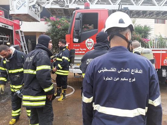 حماس: مشاركة الفلسطينيين بإطفاء الحرائق دليل على الأخوّة الفلسطينية اللبنانية الراسخة