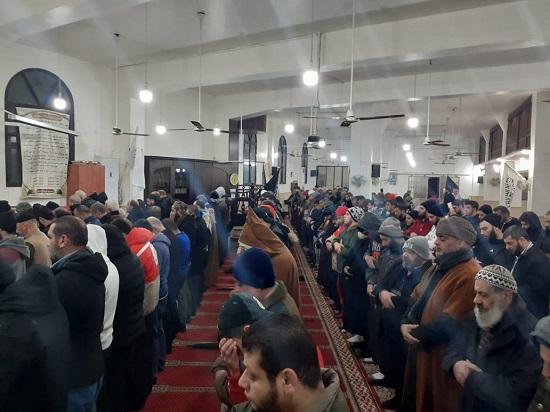 الفلسطينيون في لبنان يحشدون نصرة للمسجد الأقصى في صلاة الفجر العظيم
